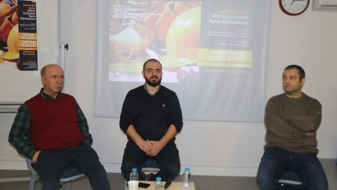2019 yılı iş cinayetleri raporu Makina MO Bakırköy Temsilciliği'nde değerlendirildi