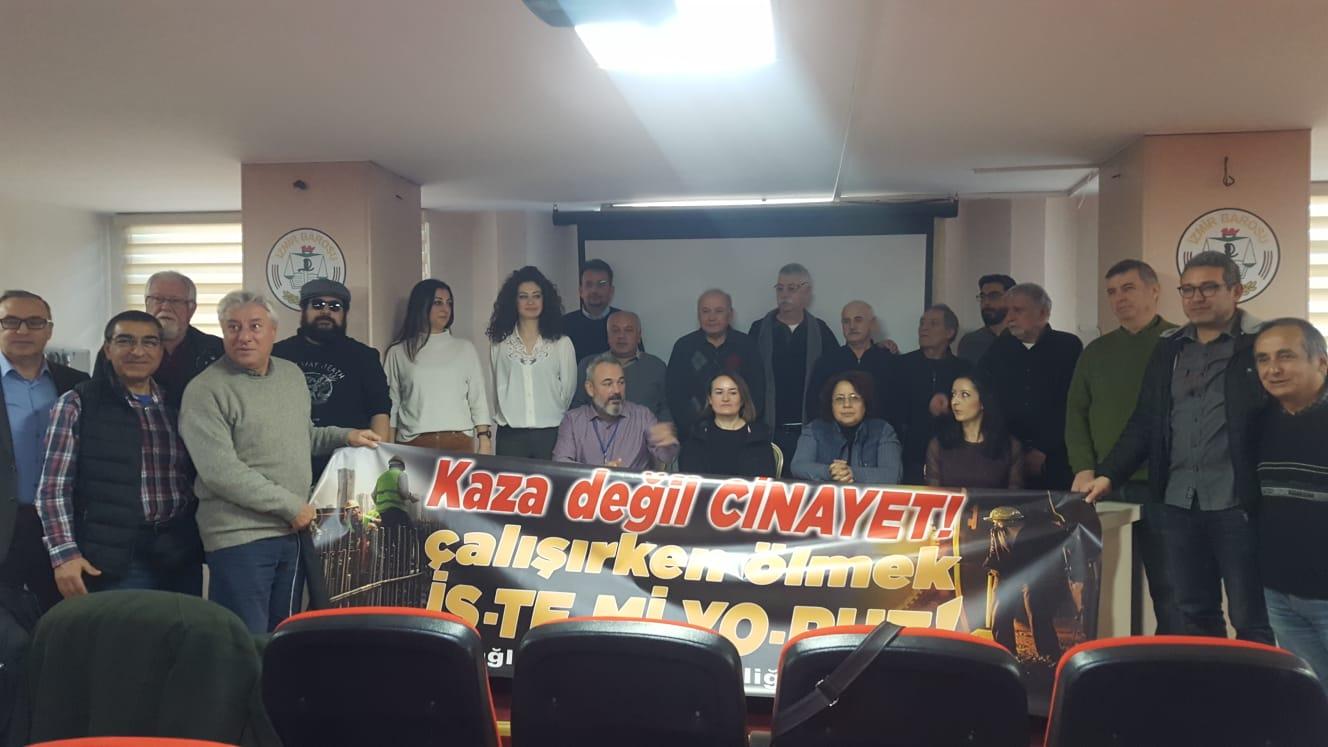 İzmir İSİG Meclisi: 2019'da İzmir'de en az 74 işçi, iş cinayetinde hayatını kaybetti