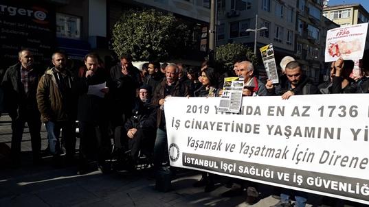 2019'da bin 736 işçi hayatını kaybetti - Emek ve Hayat / Artı TV