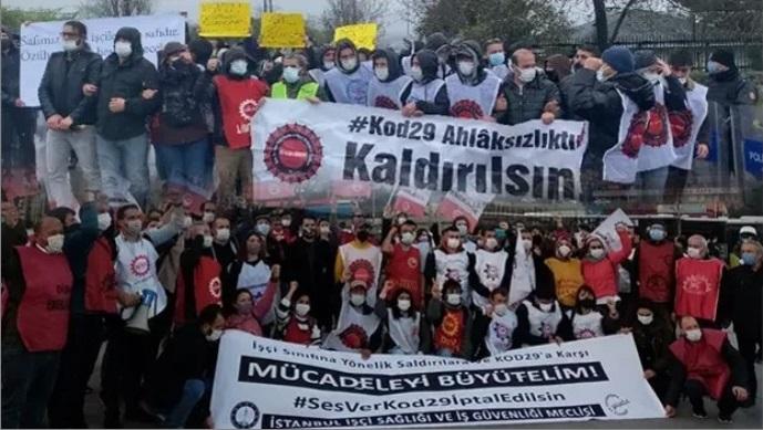 Salgın yönetiminin on dördüncü ayında işçi sınıfı mücadelesi - Murat Çakır