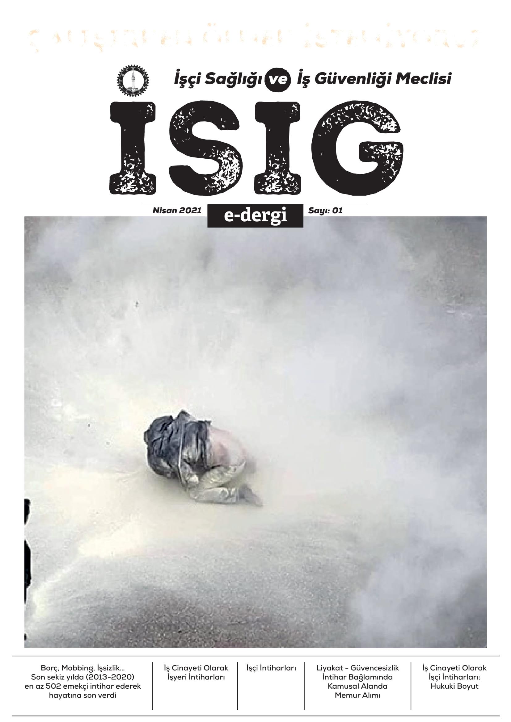 İSİG e-dergi / 1: İşçi İntiharları
